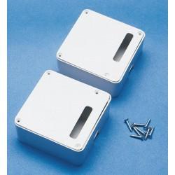 Aviomodelli Coppia scatole porta servi 64x64x25mm (art. 70286)