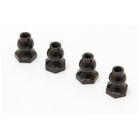 Team Losi Sfere uniball flangiate da 6,8mm (art. LOSA6055)