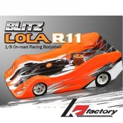 K Factory Carrozzeria Blitz Lola R11 1/8 Light 0,8mm (art. K1018-3)