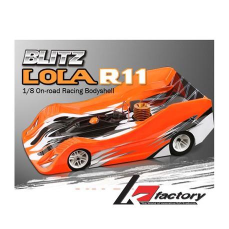 K Factory Carrozzeria Blitz Lola R11 1/8 Light 0,8mm (K1018-3)