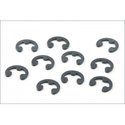 Kyosho Seger E-ring diametro interno 1,5mm 10 pezzi (art. E015)