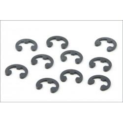 Kyosho Seger E-ring diametro interno 6mm 10 pezzi (art. E060)