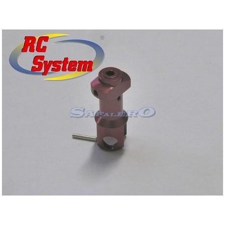 Rc System Testa rotore alluminio V2/V6 Luxe (art. RC3441)