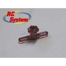 Rc System Supporto pale rotore inferiore plastica V2/V6 (RC3442)
