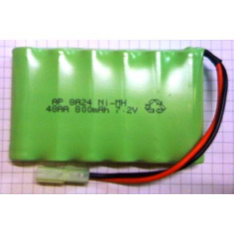 RPM Pacco batteria 7,2V Ni-Mh 800mAh per carro armato