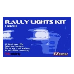 EZpower Set luci LED per Rally o Drift (art. EZRL1000)