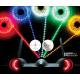 Jamara LED Stips colore GIALLO, 10 cm = 6 LED (art. 179971)