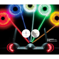 Jamara LED Stips colore BLU, 10 cm = 6 LED (art. 179972)