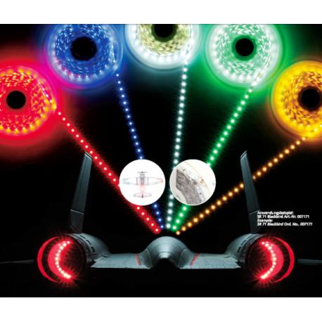 Jamara LED Stips colore BLU, 10 cm = 6 LED (art. 179972)