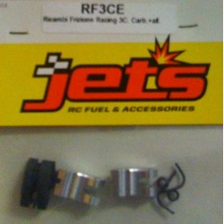 Jet's Ricambio frizione racing 3 Ceppi Carb + 2 Ergal (RF3CE)