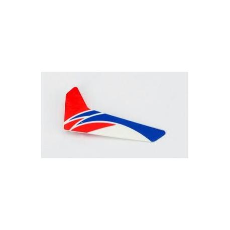 E-flite Pinna verticale Rossa per Blade MCPX (art. BLH3520R)
