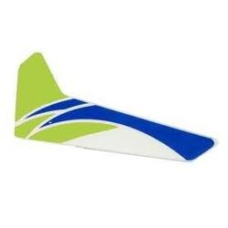 Blade Pinna verticale Verde per Blade MCPX (art. BLH3520G)