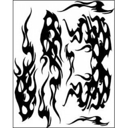 Parma Adesivi da interno per mascheratura Aggrevation (PA10823)
