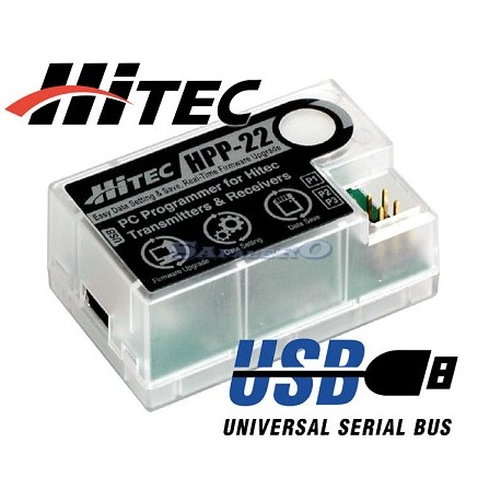 Hitec Programmatore HPP-22 USB (art. 44470)