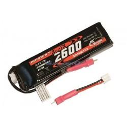 Rc System Batteria Lipo 7,4V 2600mAh per Aurora 9 (art. SAF08119)