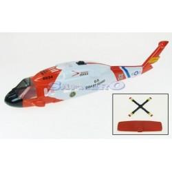 J Perkins Fusoliera per elicottero Coastguard (art. JP6601890)