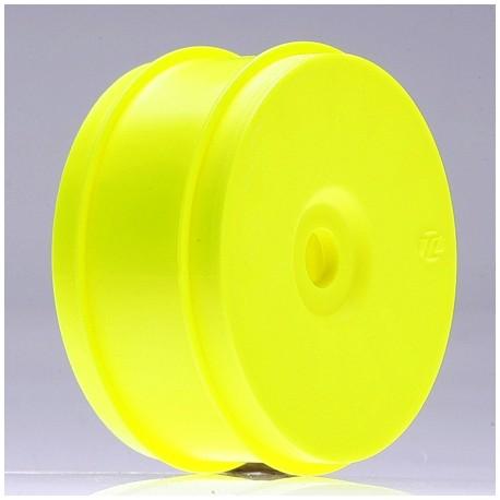 Losi Set di 4 cerchi gialli per gomme 1/8 Buggy (art. LOSA7751)