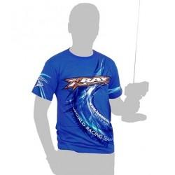Xray Team T-Shirt Blue Taglia Large (art. 395013)