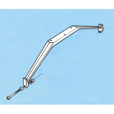 Aviomodelli Carrello principale in nylon per aerei 3,5Kg (art. 70918)