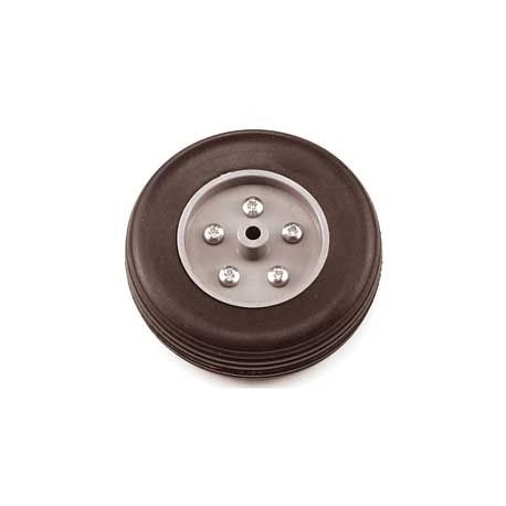 Eurokit Coppia ruote in gomma cerchio Nylon 90mm (RUO/34370/090)