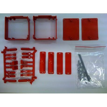Jamara Porta servocomando Rosso standard 2 pezzi (175813)