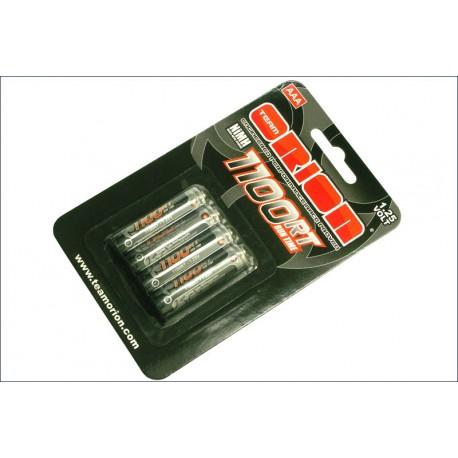 Orion Batterie Ministilo AAA 1100mAh Cap. pack 4 pz. (art. ORI13201)