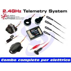 Hitec Telemetria HTS-SS Blue Full Combo per ELETTRICO (art. 55846)