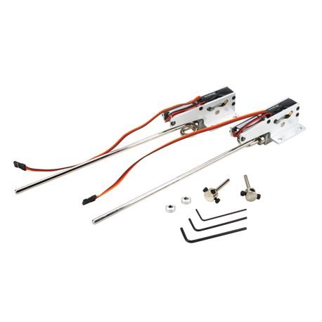 E-Flite Coppia carrelli retrattili 25-46 Rotazione 90° (art. EFLG320)