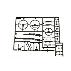 Axial Parti dettagliate interne nere (art. AX80037)
