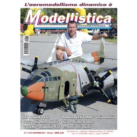 Modellistica Rivista di modellismo n°11 Novembre 2011
