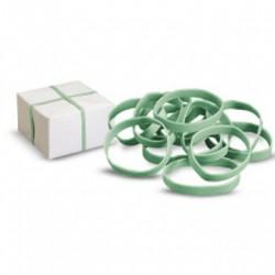 Elastici a fascetta Gomma verde Diametro 100mm larghezza 8mm quantità 10 pezzi (art. 717028)