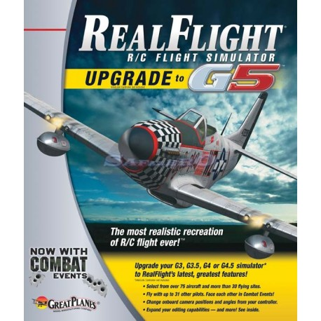Great Planes Software di Up Grade G3 ----> G5 (art. GPMZ4448)