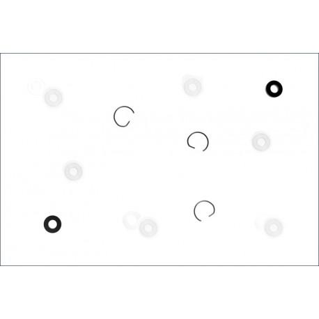 Kyosho Parti di consumo ammortizzatori Evolva M3 (art. W-5107)