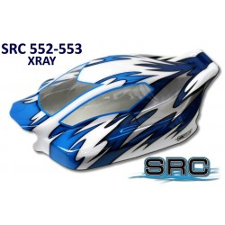 Sprint RC Carrozzeria trasparente per Xray 808 Off-Road (art. SRC552)