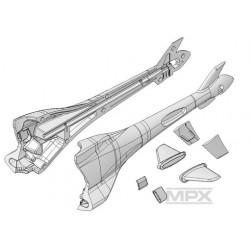 Multiplex Fusoliera posteriore + piani coda x FunCopter (223021)