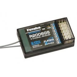 Futaba Ricevente 6 Canali FP R2006GS 2,4GHz FH/S-FHSS (art. FU103)