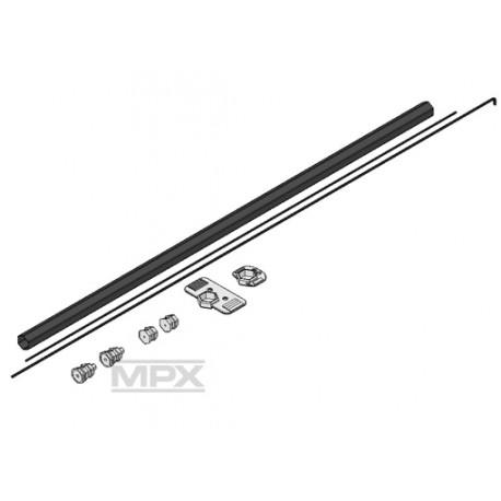 Multiplex Set rotore di coda per FunCopter (art. MP223013)