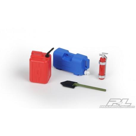 Pro-Line Accessori Crawler N°7 Taniche, Estintore (PRL6075-00)
