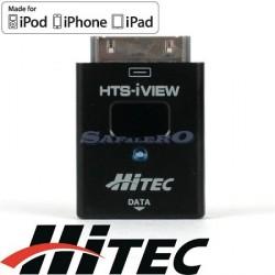 Hitec HTS-iVIEV Telemetria per i-Phone / i-Pad / i-Pod (art. 55862)