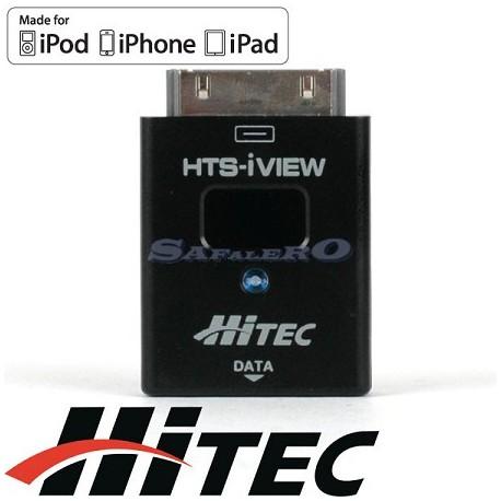 Hitec HTS-iVIEV Telemetria per i-Phone / i-Pad / i-Pod (55862)