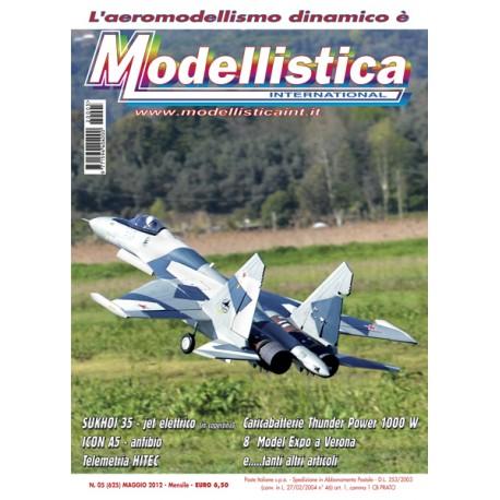 Modellistica Rivista di modellismo n°05 (625) Maggio 2012