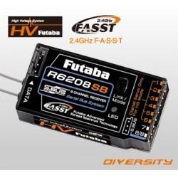 Futaba Ricevente 8 Canali R6208SB-HV 2,4GHz FASST (art. 108)