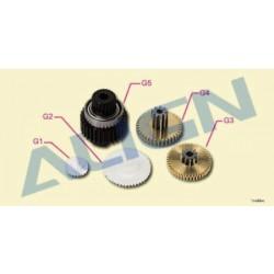 Align Set ingranaggi di ricambio per Servo DS420 (art. HSP41035)