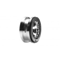 Losi Coppia cerchi 2.2 Beadlock cromati con anelli (LOSA7020)