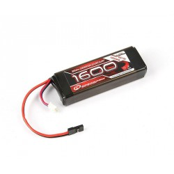 Robitronic Batteria Rx pack Li-Fe 2/3A Straig 1600mAh 6,6 R05205