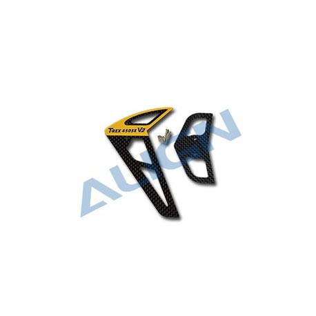 Align Nuovo V2 Carbon Stabilizer Set nero 450SE (art. HS125200