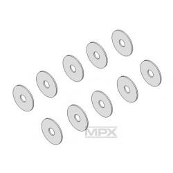 Multiplex Rondella Ø7 x Ø2 x 0,3 mm 10 pz per FunCopter (223025)