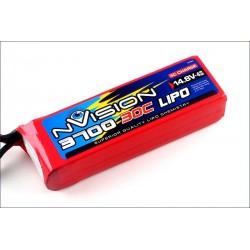 Batteria nVision Li-po 14,8V 3700mAh 30C 4S (art. NVO1815)