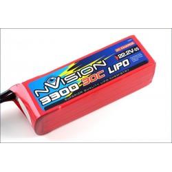 Batteria nVision Li-po 22,2V 3300mAh 30C 3S (art. NVO1816)