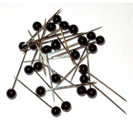 Mantua Model Confezione di 25 Spilli con testa per legno (art. 2476)